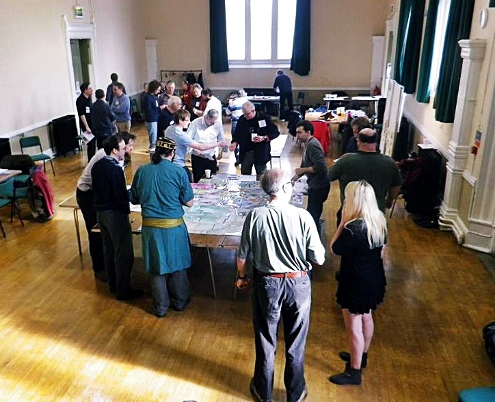 My first Megagame, Renaissance and Reformation - Fifty Megagames by BeckyBecky Blogs