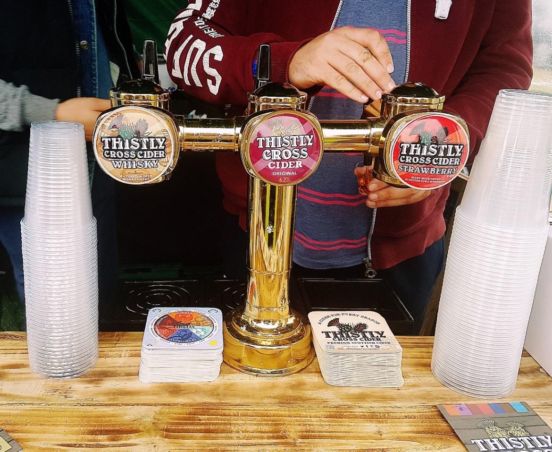 Cider at North Leeds Food Festival
