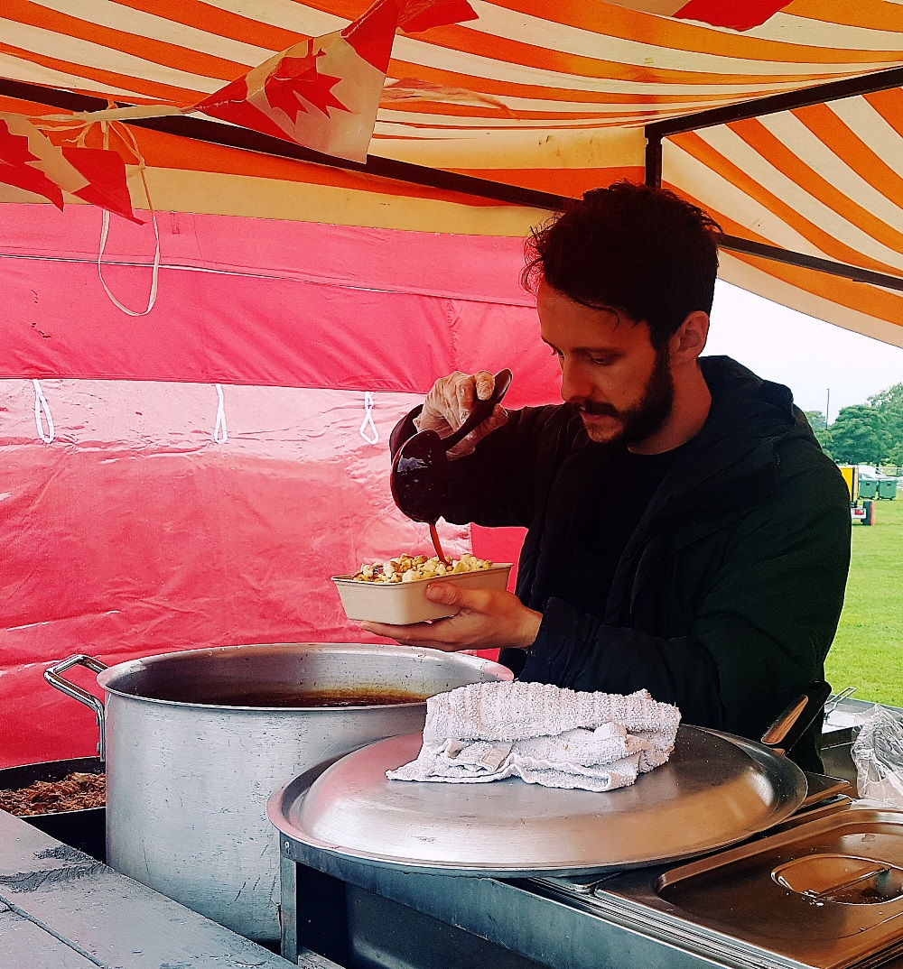 Poutine at North Leeds Food Festival
