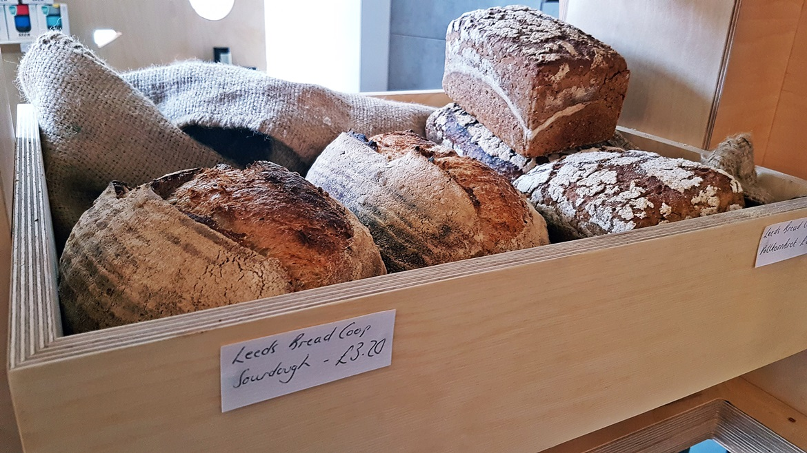 Freshly baked Noisette bread at North Star General Store - Review of North Star Coffee Shop by BeckyBecky Blogs