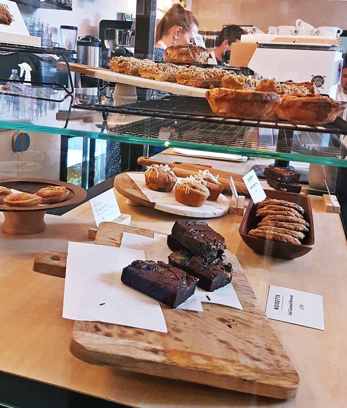 Fresh Noisette cakes - Review of North Star Coffee Shop by BeckyBecky Blogs