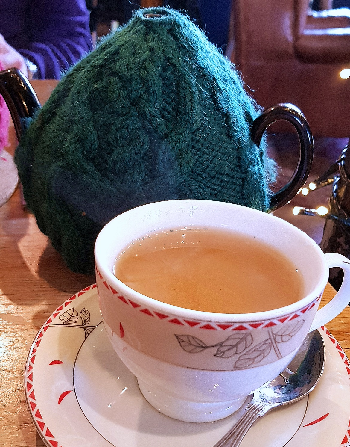 Jasmine tea at Teahouse Theatre in Vauxhall - November Monthly Recap by BeckyBecky Blogs