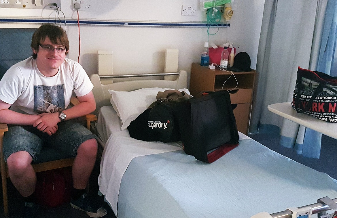 Arriving at Leeds General Infirmary - One Broken Foot, Two Chronic Illnesses, and the Importance of Positivity by BeckyBecky Blogs