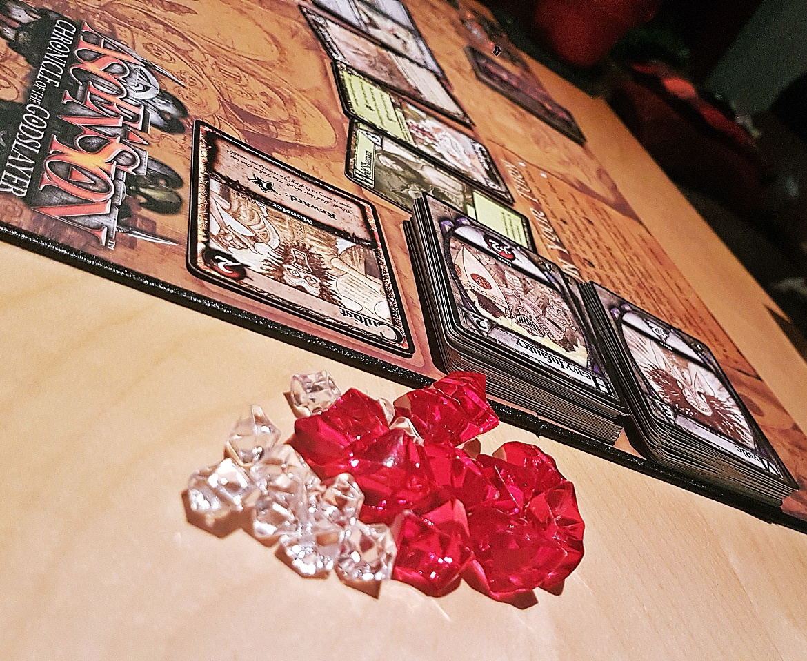 Playing Ascension board game - August 2017 Recap by BeckyBecky Blogs