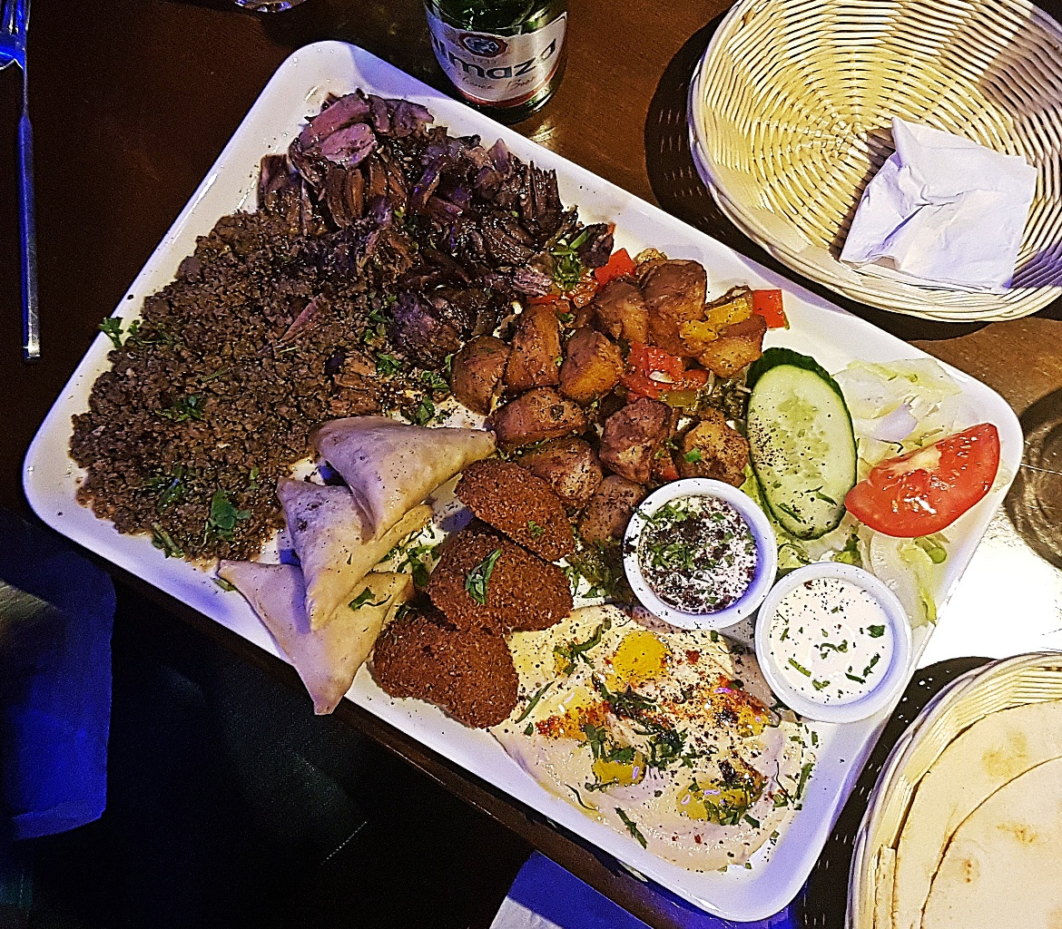 Sharer platter at Mount Lebanon, Sheffield - August 2017 Recap by BeckyBecky Blogs