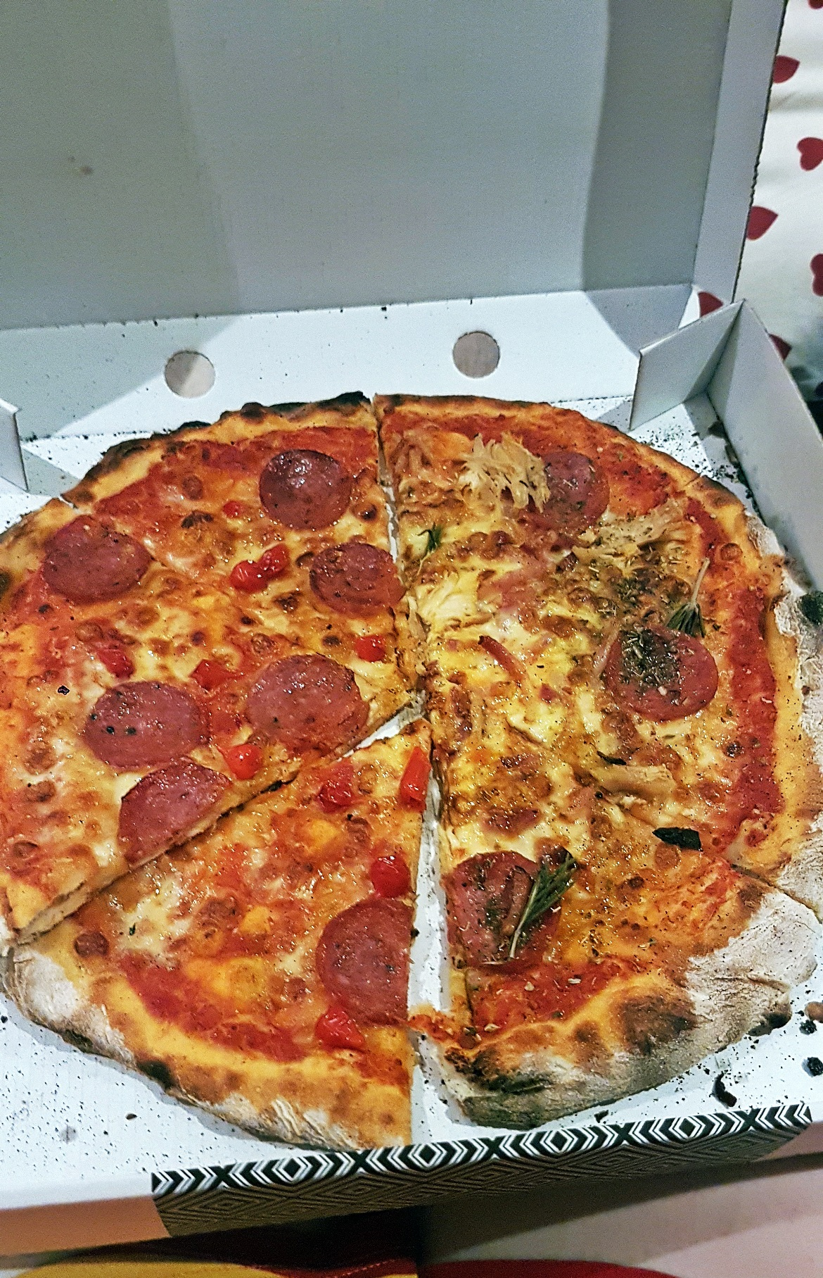 Pizza from Prezzo on Deliveroo - July 2017 Recap by BeckyBecky Blogs