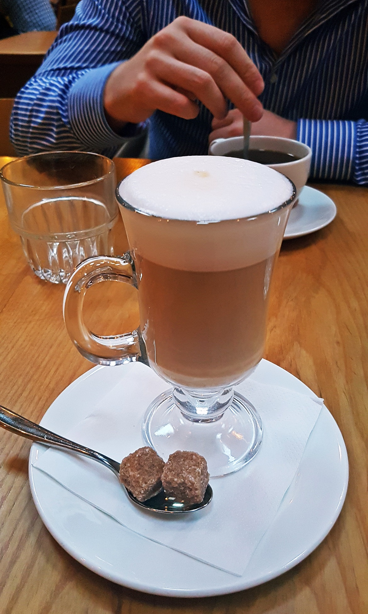 Decaf latte - Restaurant Review of Shears Yard, Leeds Restaurant Week menu by BeckyBecky Blogs