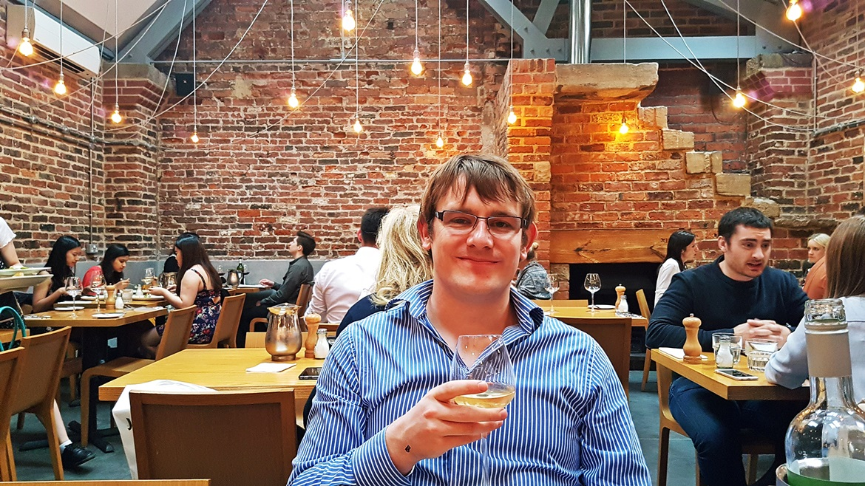 Restaurant area of Shears Yard - Restaurant Review of Shears Yard, Leeds Restaurant Week menu by BeckyBecky Blogs