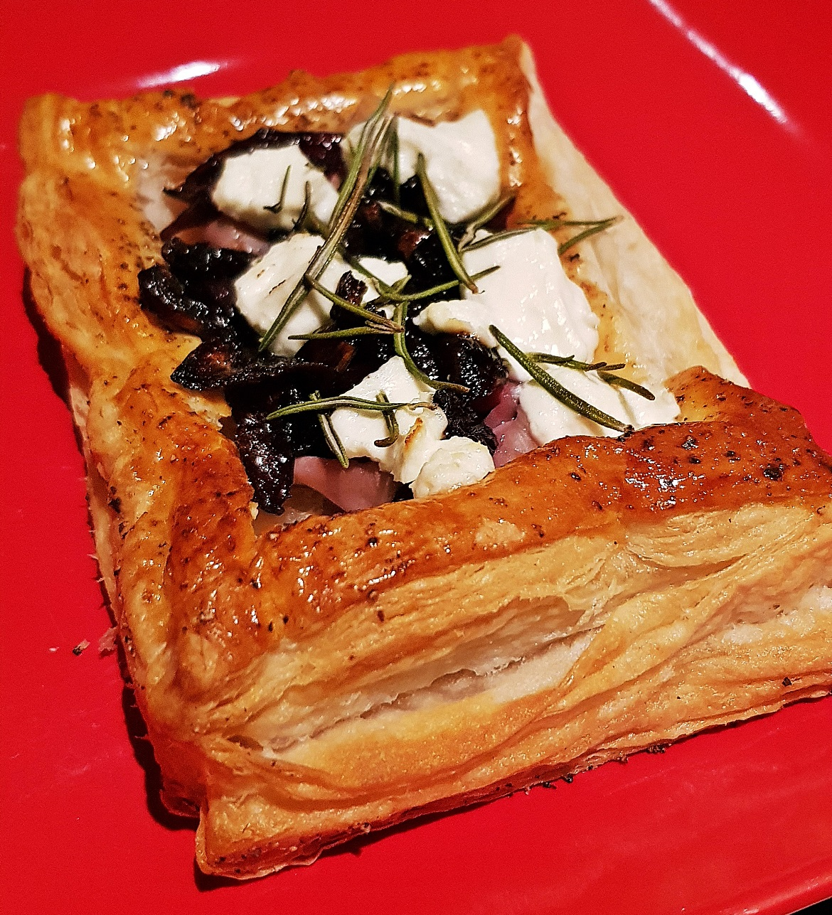Parma Ham and Goats Cheese Tartlet - Recipe by BeckyBecky Blogs