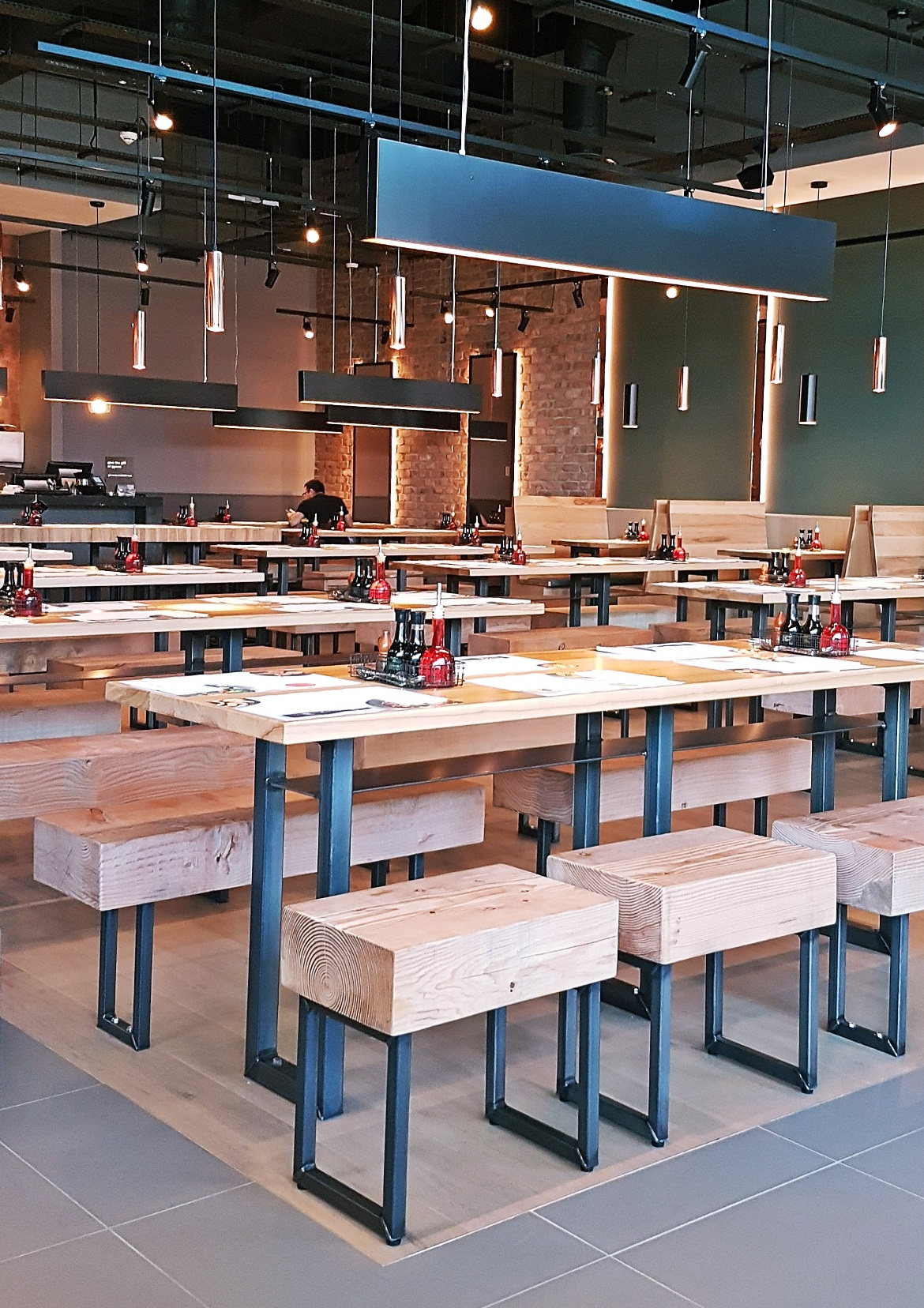 Interior of Wagamama at White Rose Leeds - Wagamama Menu Pairing, Review by BeckyBecky Blogs