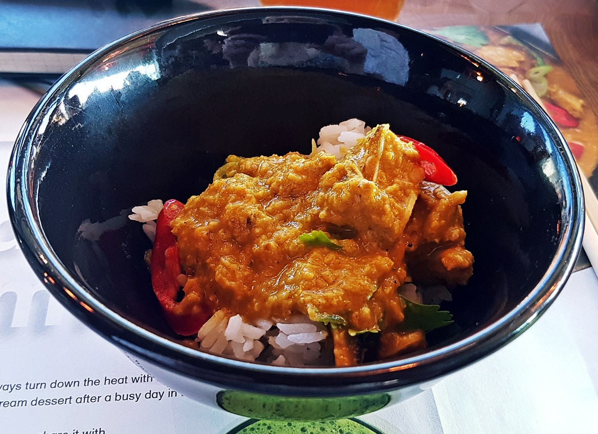 Samla chicken curry - Wagamama Menu Pairing, Review by BeckyBecky Blogs