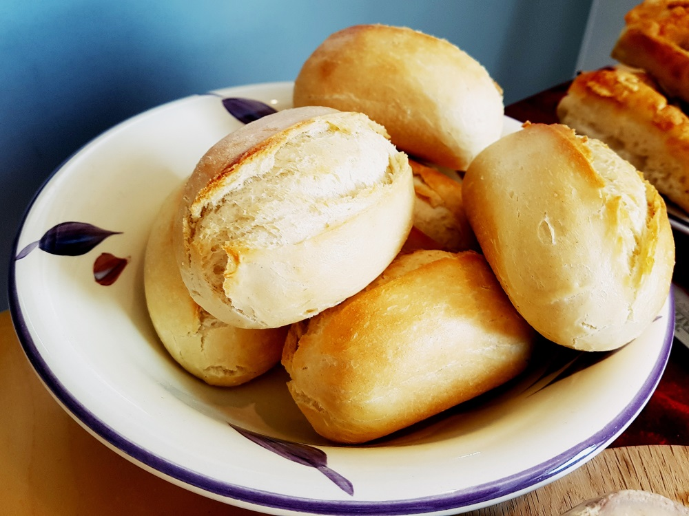 Freshly baked bread at our House Wimbledoning