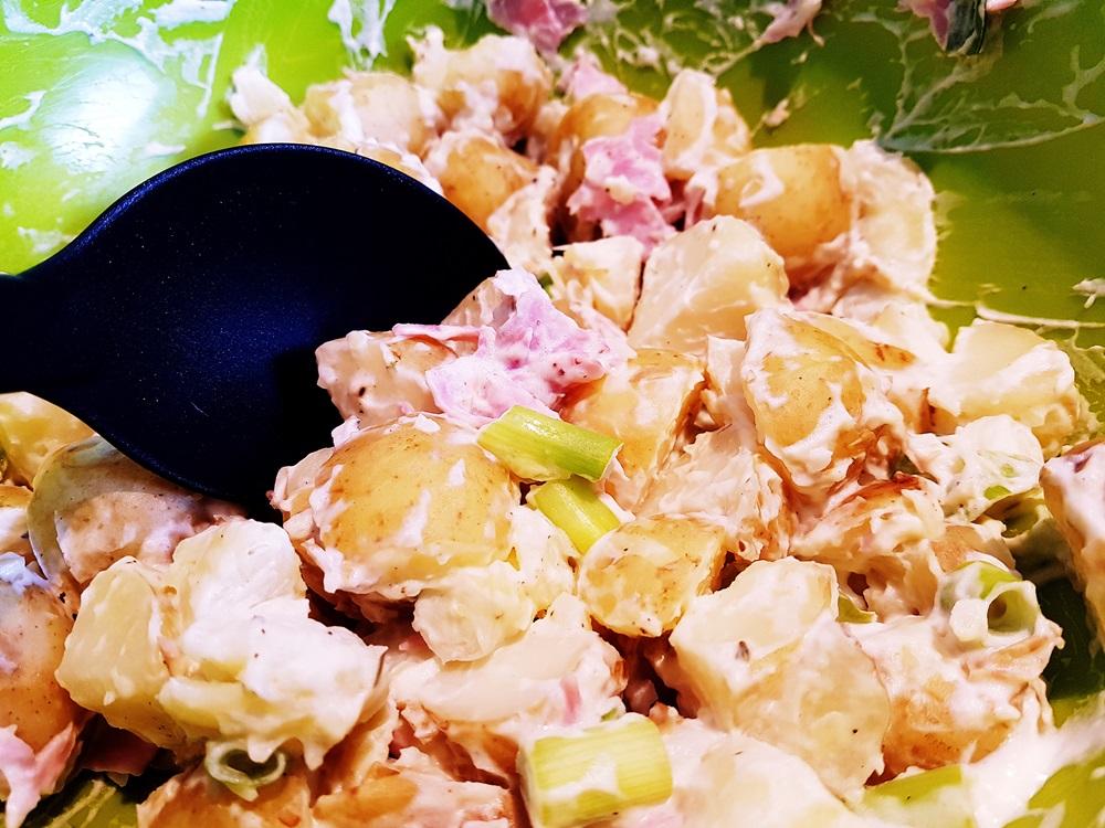 Potato salad at our House Wimbledoning