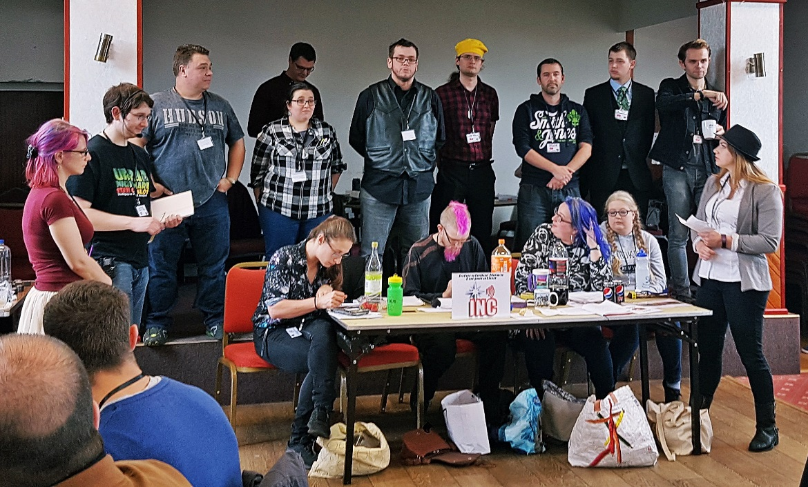 The Rosal assembly - A World Divided megagame after action report by BeckyBecky Blogs