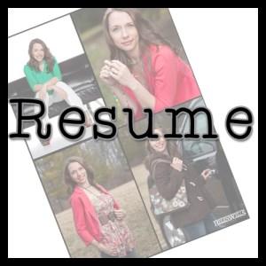 Resume photo copy