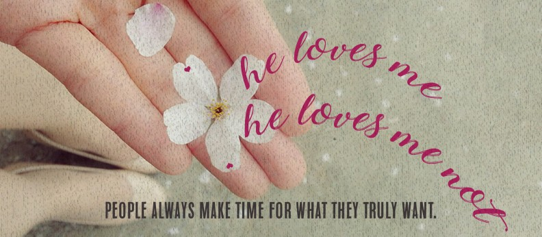 Extraordinary Marriage Project: He Loves Me, He Loves Me Not