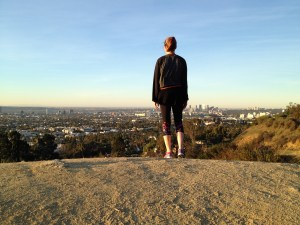 Becky Sage at Runyan Canyon