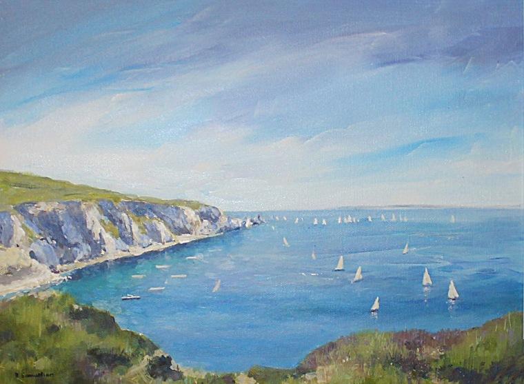 Becky Samuelson Fine Arts Acrylic Paintings Isle Of