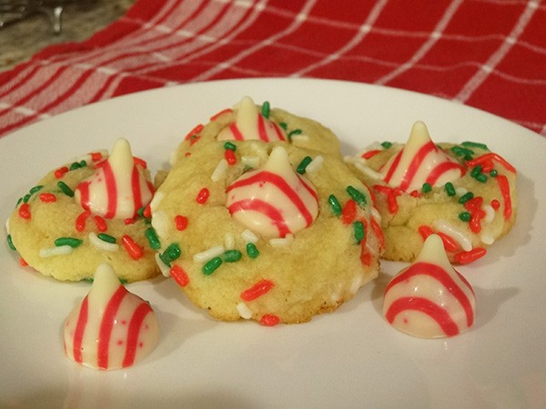 Peppermint Blossom Cookies