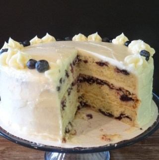 Lemon-Blueberry-Cake