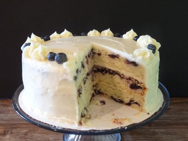 Lemon-Blueberry-Cake