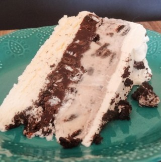 Oreo Cookies and Cream Ice Cream Cake