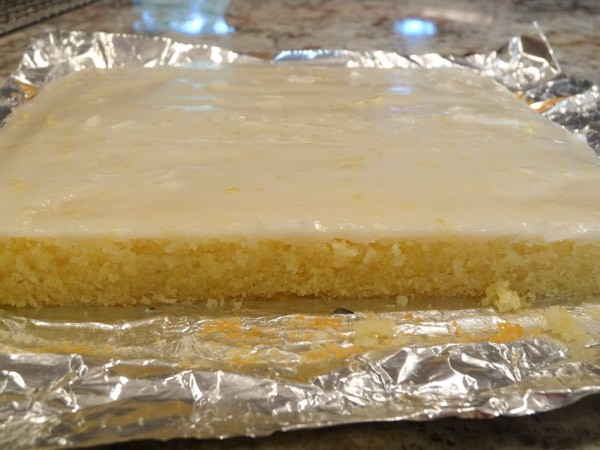 Lemon Brownie Bars