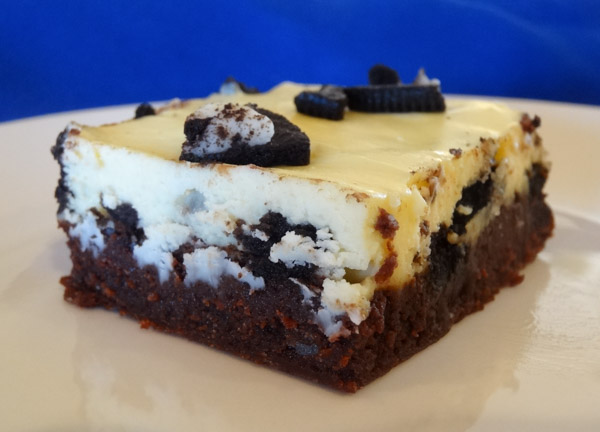 Oreo Cheesecake Brownies