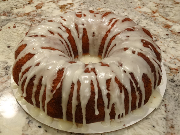 Lemon Ricotta Bundt Cake
