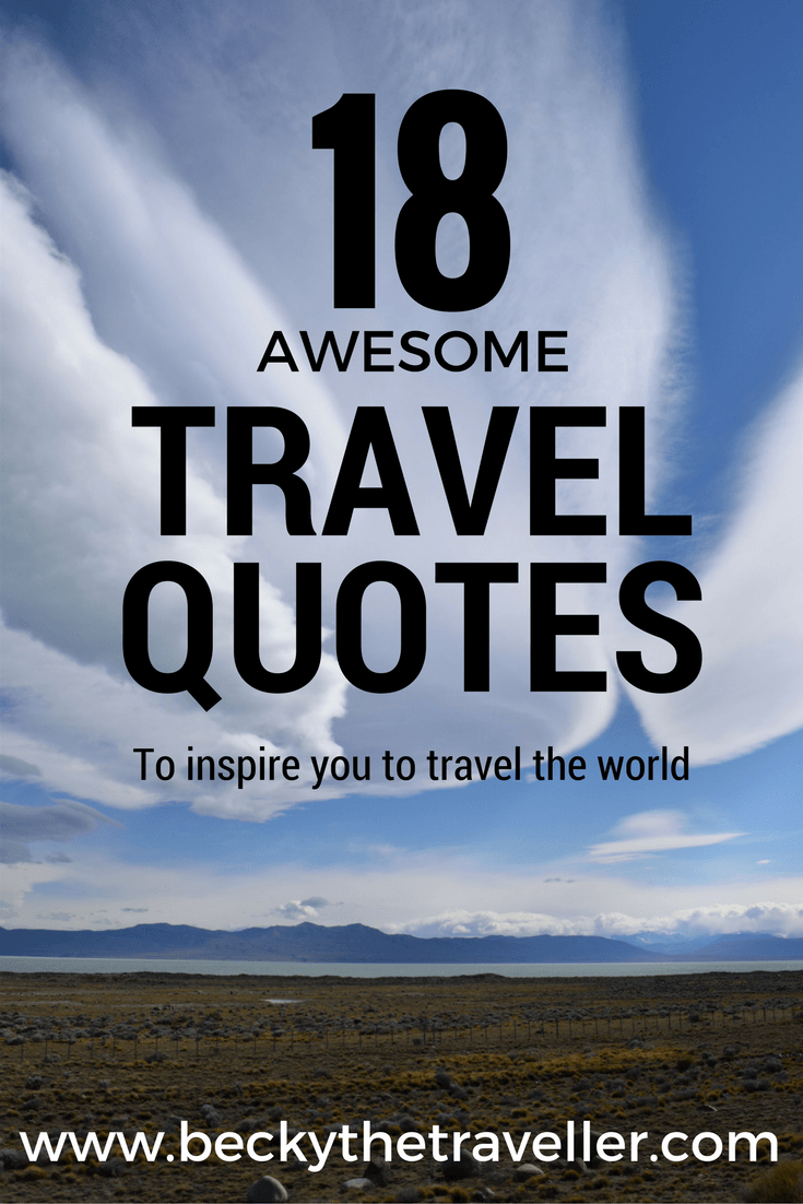 18 awesome travel quotes to inspire you to book that trip ...
