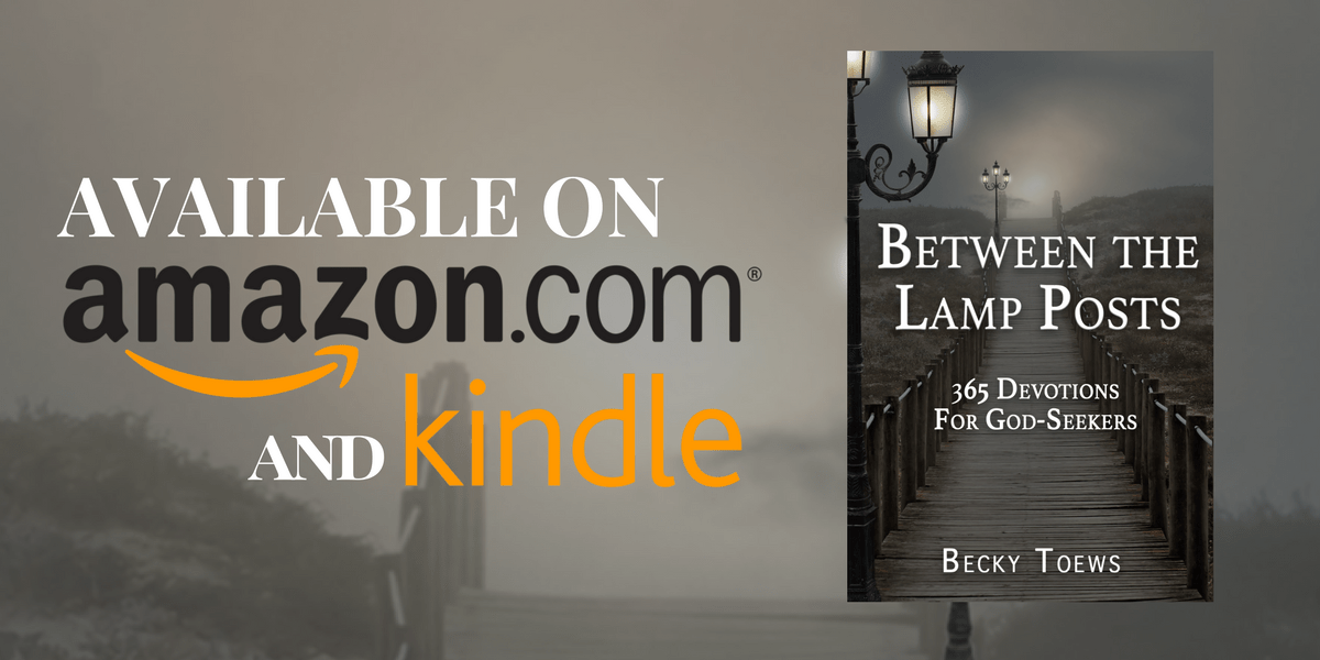 Between The Lamp Posts Now Available on Amazon and Kindle