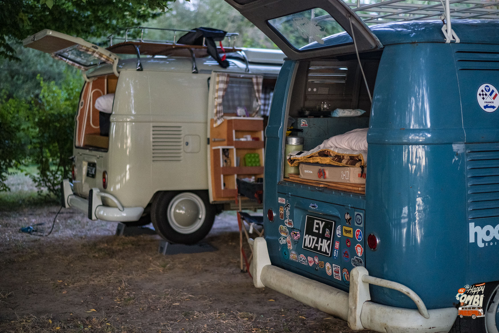 Clisson Vintage #3 - Nuit au camping - BeCombi