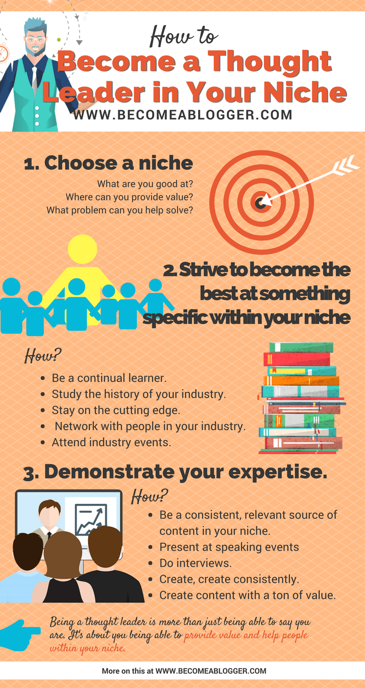 How to Become a Thought Leader in Your Niche