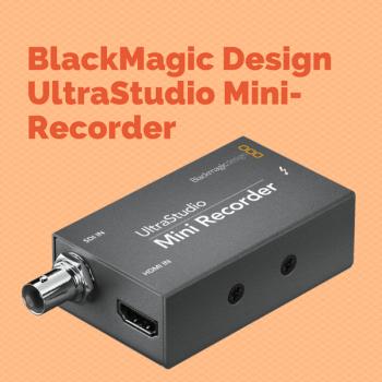 Blackmagic Design UltraStudio MiniRecorder