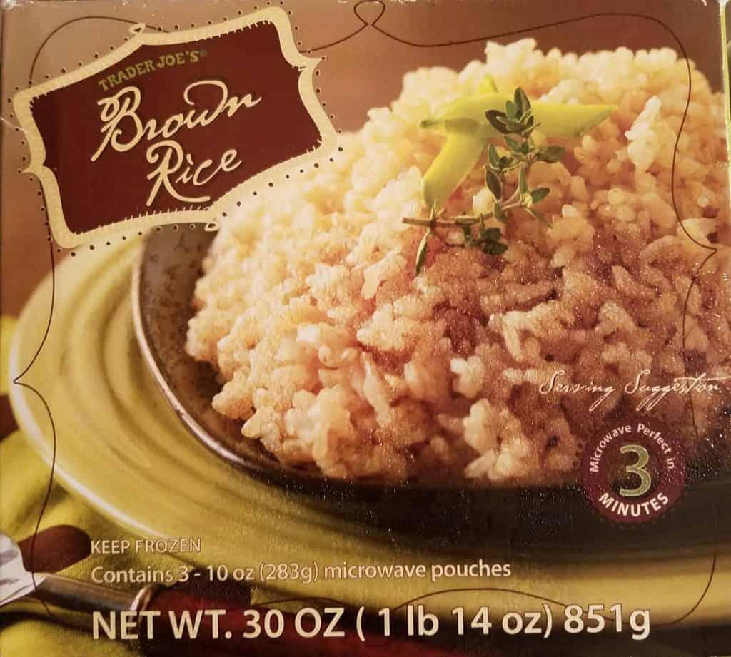 trader joe s brown rice