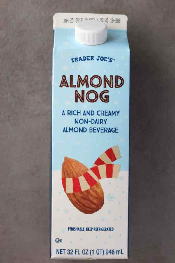 Trader Joe's Almond Nog | BecomeBetty.com