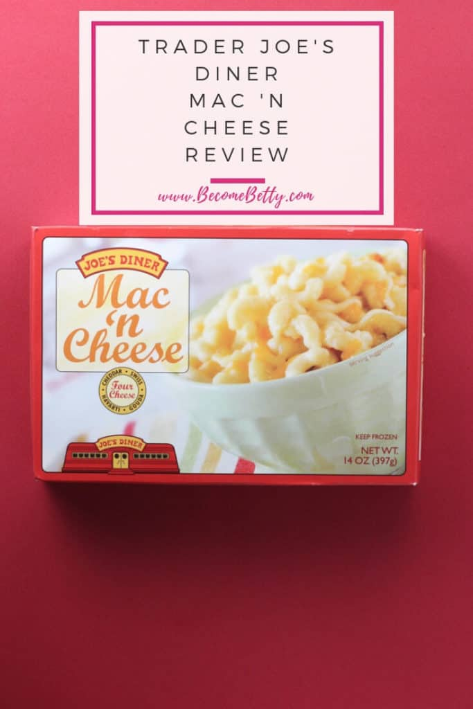 trader joe s diner mac and cheese