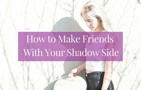We all have a shadow side, whether we feel comfortable acknowledging it or not. Want to learn how to make friends with yours? This post is for you >>> | www.becomingwhoyouare.net