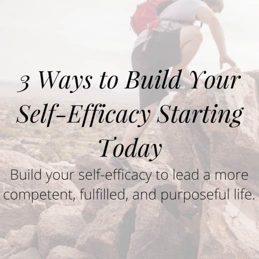 Click to discover 3 ways to build your self-efficacy starting today