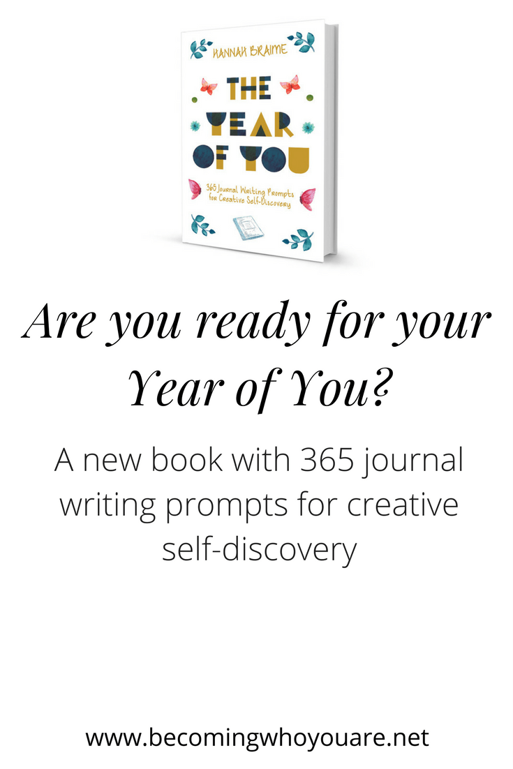 Are you ready for your Year of You? Get the new book with 365 journal writing prompts for creative self-discovery. Click to find out more.