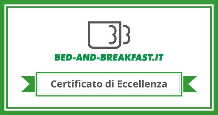 Certificato d'eccellenza Bed-and-breakfast.it