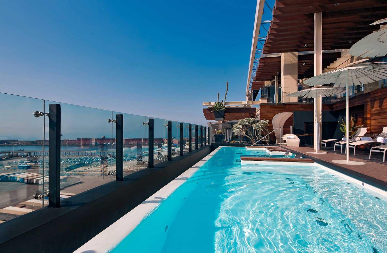 Piscina Romeo Hotel Design Napoli