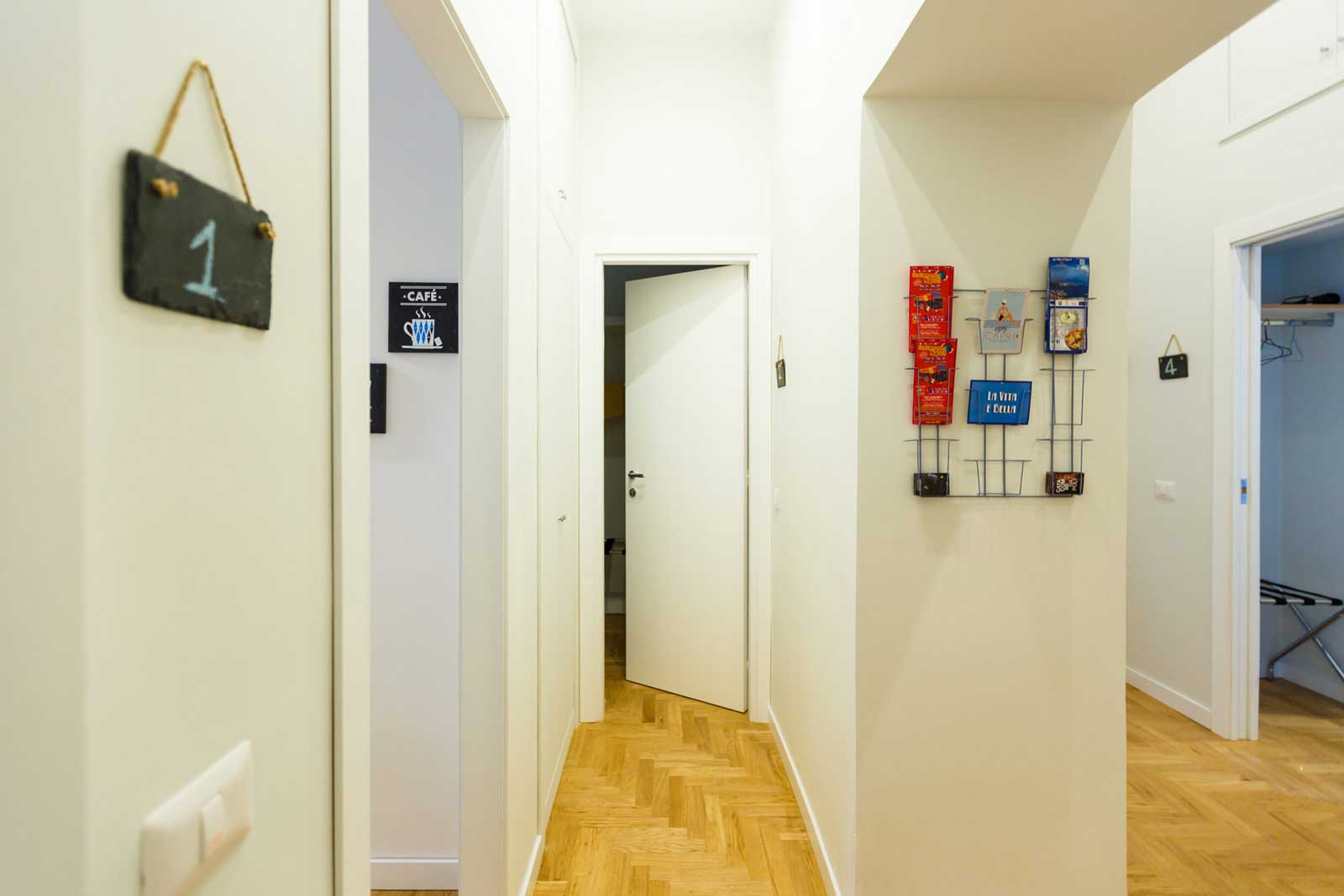 The Andy House Bed and Breakfast Napoli (Ambiente del B&B)