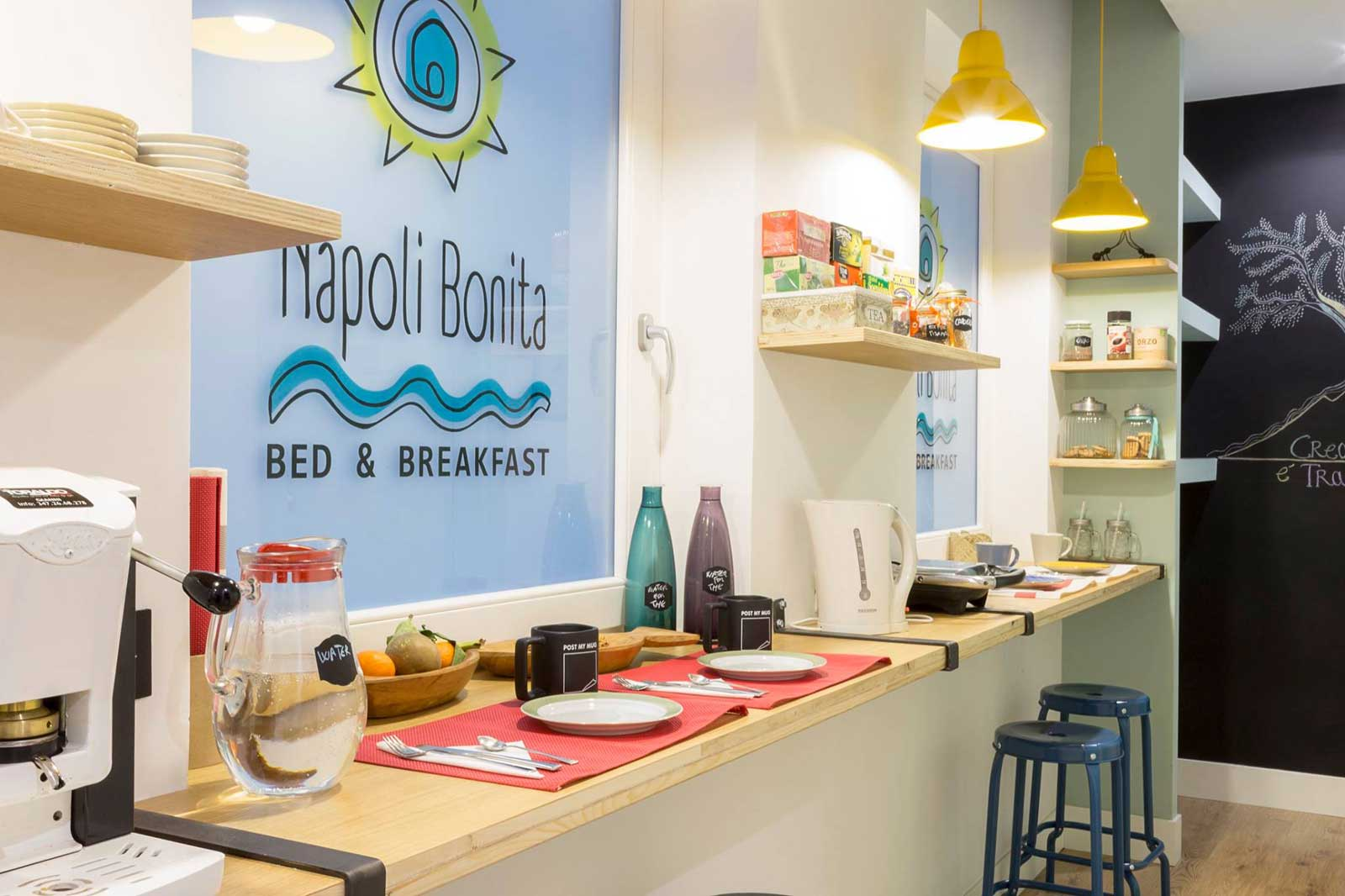 Napoli Bonita Bed and Breakfast Napoli (prima colazione)