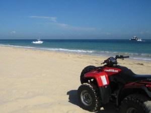 ATV on Beach