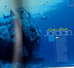Supplement Magazine Design Services from Bedazzled Graphic Design, layout from SPORTS DIVER Magazine