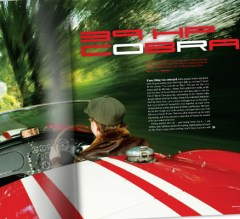 Opening spread for a 6 page feature within Octane Magazine