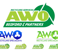 Designs for a new company logo for AWO Recyclilng & Partners