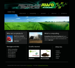 AWO Recycling Website by Bedazzled Graphic Design