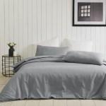 Duvet Covers Linen Co Portland 90 Cotton 10 Linen Duvet Cover Set